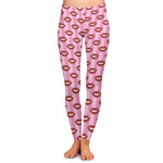 Lips (Pucker Up) Ladies Leggings