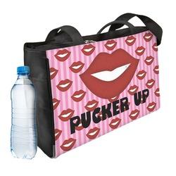 Lips (Pucker Up) Ladies Workout Bag