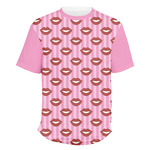 Lips (Pucker Up) Men's Crew T-Shirt