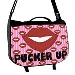 Lips (Pucker Up) Messenger Bag
