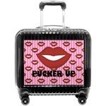 Lips (Pucker Up) Pilot / Flight Suitcase