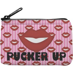 Lips (Pucker Up) Rectangular Coin Purse