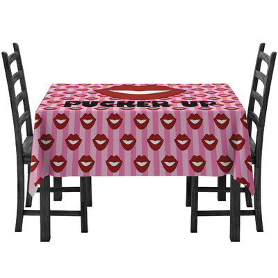 Lips (Pucker Up) Tablecloth