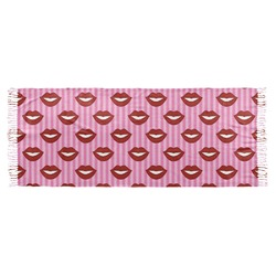 Lips (Pucker Up) Faux Pashmina Scarf
