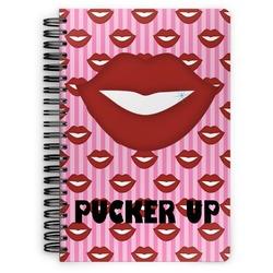 Lips (Pucker Up) Spiral Notebook