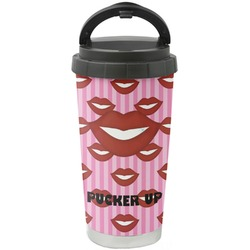 Lips (Pucker Up) Stainless Steel Travel Mug