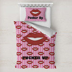 Lips (Pucker Up) Toddler Bedding