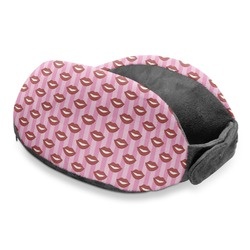 Lips (Pucker Up) Travel Neck Pillow