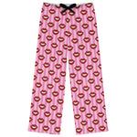 Lips (Pucker Up) Womens Pajama Pants