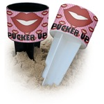 Lips (Pucker Up) Beach Spiker Drink Holder