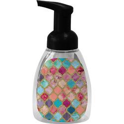 Glitter Moroccan Watercolor Foam Soap Dispenser (Personalized)