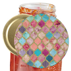 Glitter Moroccan Watercolor Jar Opener