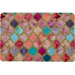 Glitter Moroccan Watercolor Comfort Mat (Personalized)