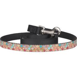 Glitter Moroccan Watercolor Pet / Dog Leash (Personalized)