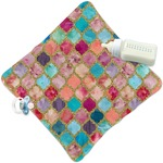 Glitter Moroccan Watercolor Security Blanket