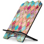 Glitter Moroccan Watercolor Stylized Tablet Stand