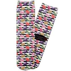 Macarons Adult Crew Socks (Personalized)