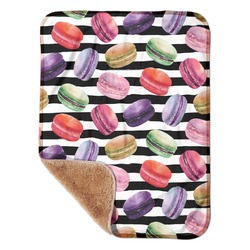 """Macarons Sherpa Baby Blanket 30"""" x 40"""" (Personalized)"""