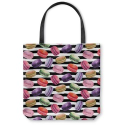 Macarons Canvas Tote Bag (Personalized)