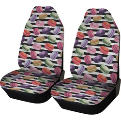 Macarons Car Seat Covers (Set of Two) (Personalized)