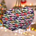 Macarons Ceramic Ornament