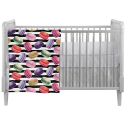 Macarons Crib Comforter / Quilt (Personalized)