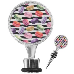 Macarons Wine Bottle Stopper (Personalized)