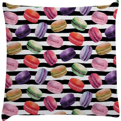 Macarons Decorative Pillow Case (Personalized)