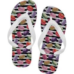Macarons Flip Flops (Personalized)