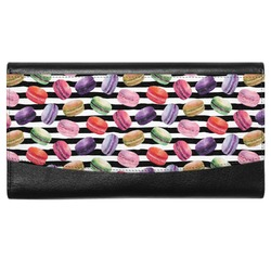 Macarons Genuine Leather Ladies Wallet (Personalized)