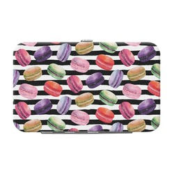 Macarons Genuine Leather Small Framed Wallet (Personalized)