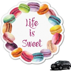 Macarons Graphic Car Decal (Personalized)