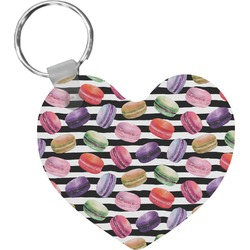 Macarons Heart Keychain (Personalized)