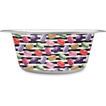 Macarons Stainless Steel Dog Bowl (Personalized)