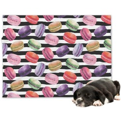 Macarons Minky Dog Blanket - Regular (Personalized)