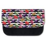 Macarons Canvas Pencil Case