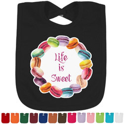 Macarons Bib - Select Color (Personalized)