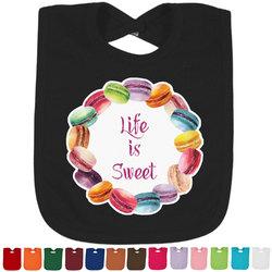 Macarons Baby Bib - 14 Bib Colors (Personalized)