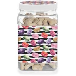 Macarons Pet Treat Jar (Personalized)