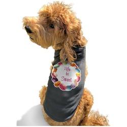 Macarons Black Pet Shirt - XL (Personalized)