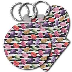 Macarons Plastic Keychains