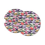 Macarons Sandstone Car Coasters (Personalized)