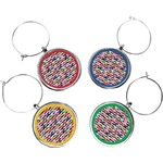 Macarons Wine Charms (Set of 4) (Personalized)