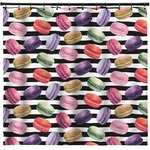 Macarons Shower Curtain (Personalized)