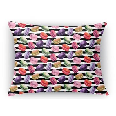 Macarons Rectangular Throw Pillow Case (Personalized)