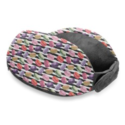 Macarons Travel Neck Pillow (Personalized)