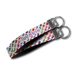 Macarons Wristlet Webbing Keychain Fob (Personalized)