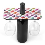 Macarons Wine Bottle & Glass Holder (Personalized)