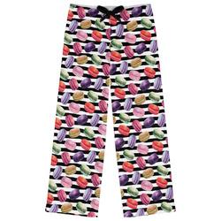 Macarons Womens Pajama Pants - XL (Personalized)