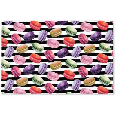 Macarons Woven Mat (Personalized)